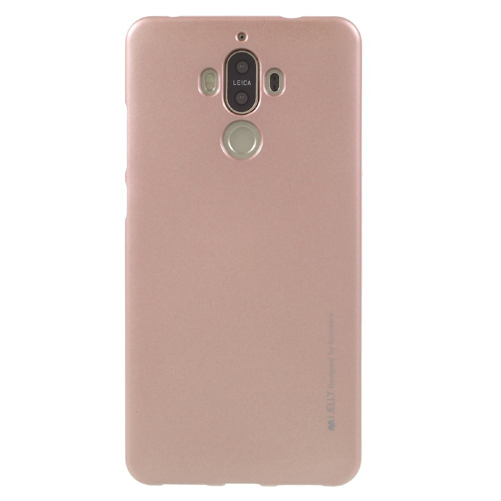 Kryt TPU gel Goospery iJelly Case pro Huawei Mate 9 - růžový