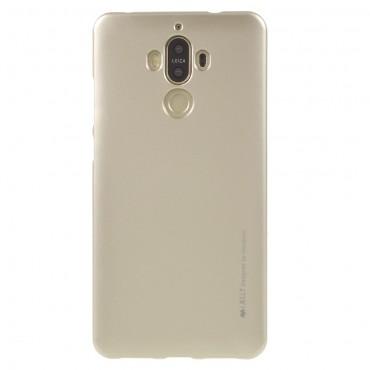 Kryt TPU gel Goospery iJelly Case pro Huawei Mate 9 - zlatý
