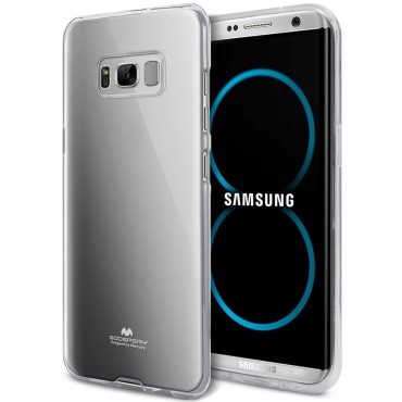 Kryt TPU gel Goospery Jelly Case pro Samsung Galaxy S8 - průhledný