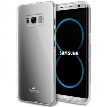 TPU gelový obal Goospery Clear Jelly Case pro Samsung Galaxy S8 - průhledný