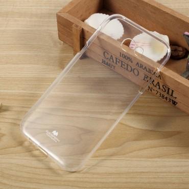 TPU gelový obal Goospery Clear Jelly Case pro Samsung Galaxy A5 2017 - průhledný