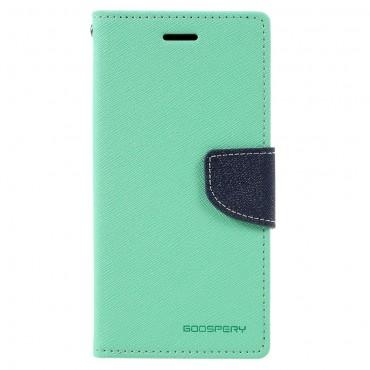 Pouzdro Goospery Fancy Diary pro Samsung Galaxy A3 2017 - mint