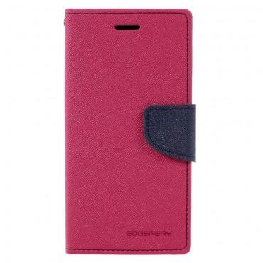 Pouzdro Goospery Fancy Diary pro Samsung Galaxy A3 2017 - magenta