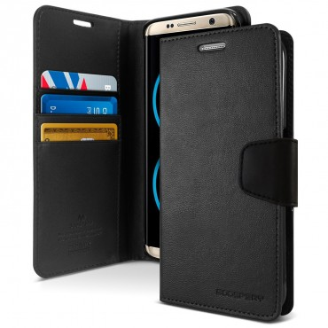 Elegantní pouzdro Goospery Sonata pro Samsung Galaxy S8 - černé
