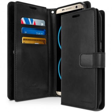 Kryt Goospery Mansoor Diary pro Samsung Galaxy S8 - černý