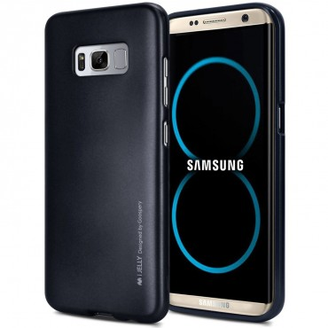 Kryt TPU gel Goospery iJelly Case Samsung Galaxy S8 - černý