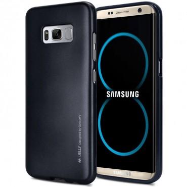 TPU gelový obal Goospery iJelly Case Samsung Galaxy S8 - černý