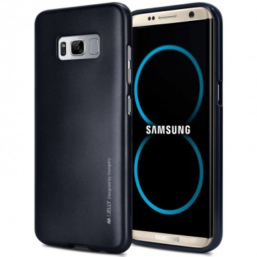 Kryt TPU gel Goospery iJelly Case Samsung Galaxy S8 Plus - černý