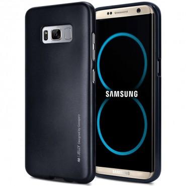 TPU gelový obal Goospery iJelly Case Samsung Galaxy S8 Plus - černý