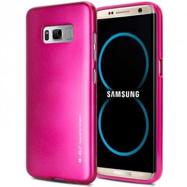 TPU gelový obal Goospery iJelly Case Samsung Galaxy S8 Plus - purpurový