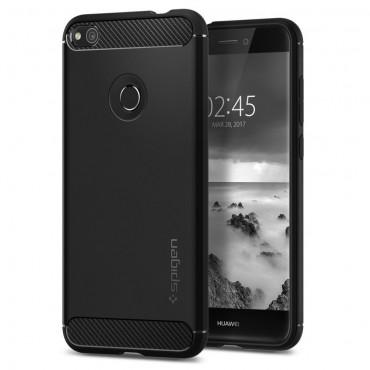 "Obal Spigen ""Rugged Armor"" pro Huawei Honor 8 Lite / P8 Lite 2017 - černý"