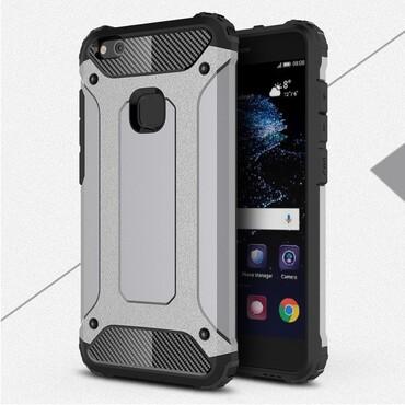 """Robustní kryt """"Rock"""" pro Huawei P10 Lite - šedý"""