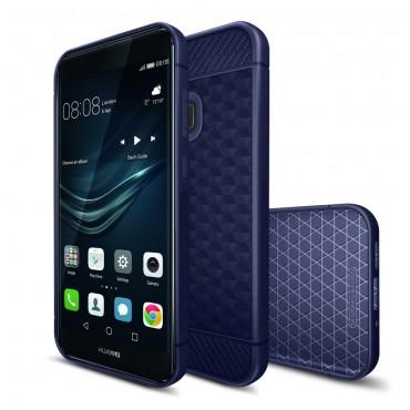 "Tenký obal ""Carbon Fit"" pro Huawei P10 Lite - tmavě modrý"