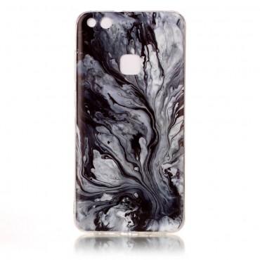 "Módní kryt ""Marble"" pro Huawei P10 Lite - šedý"