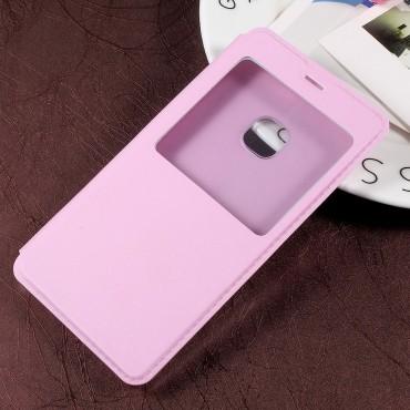 "Tenký kryt ""Single View"" pro Huawei P10 Lite - růžový"