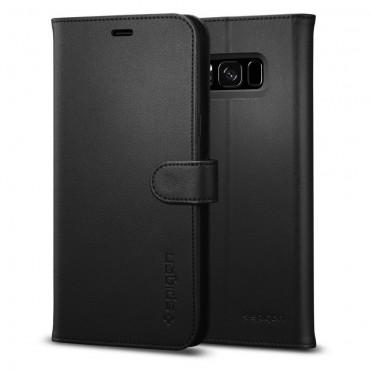 "Kryt Spigen ""Wallet S"" pro Samsung Galaxy S8 Plus - černý"