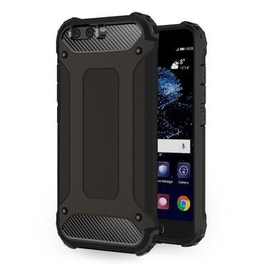 """Robustní obal """"Rock"""" pro Huawei P10 - černý"""