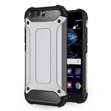 """Robustní kryt """"Rock"""" pro Huawei P10 - šedý"""
