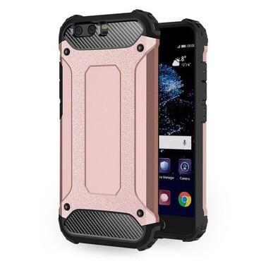 """Robustní obal """"Rock"""" pro Huawei P10 - růžový"""