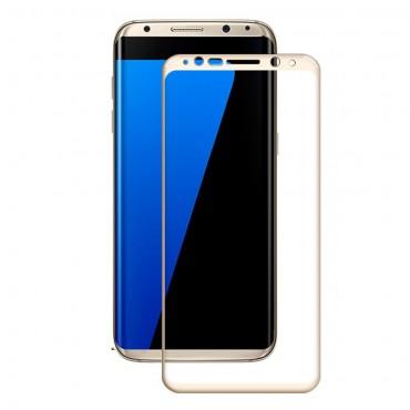 Vysoce kvalitní ochranné sklo pro Samsung Galaxy S8 Amorus - zlatý