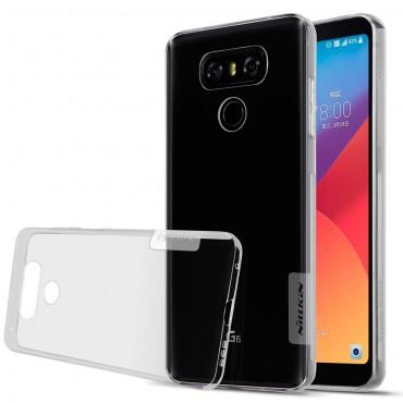 """Prémiový tenký obal """"Nature"""" LG G6 - šedý"""
