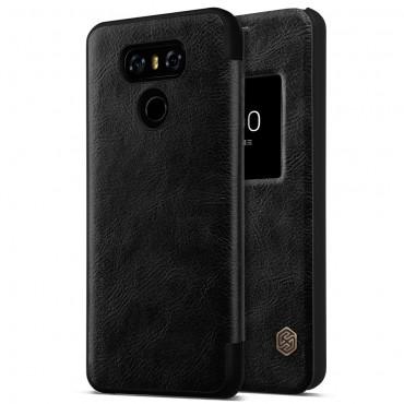 """Elegantní pouzdro """"Qin Smart"""" pro LG G6 - černé"""