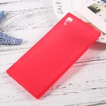 TPU gelový obal pro Sony Xperia XA1 - červený