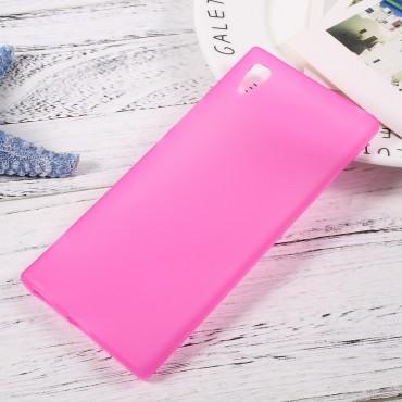 TPU gelový obal pro Sony Xperia XA1 - růžový