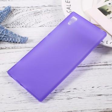 TPU gelový obal pro Sony Xperia XA1 - fialový
