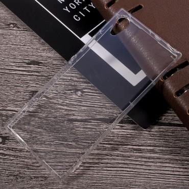 TPU gelový obal pro Sony Xperia XA1 - průhledný