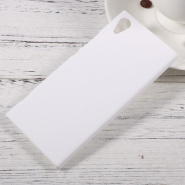 Tvrdý TPU obal pro Sony Xperia XA1 - bílý