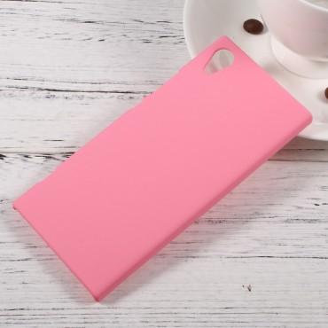 Tvrdý TPU obal pro Sony Xperia XA1 - růžový