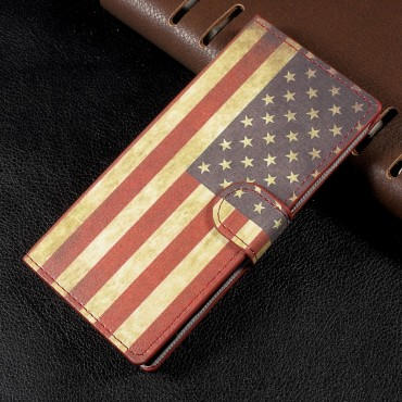 "Módní kryt ""Retro USA"" pro Sony Xperia XA1"
