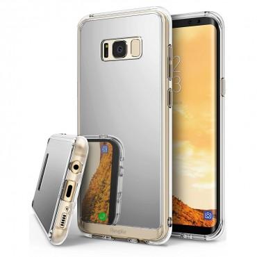 "Kryt Ringke ""Mirror"" pro Samsung Galaxy S8 Plus - silver"