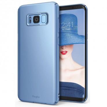 """Obal Ringke """"Slim"""" pro Samsung Galaxy S8 - modře perlový"""