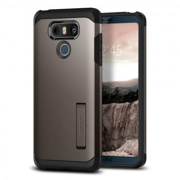 """Obal Spigen """"Tough Armor"""" pro LG G6 - kovově černý"""