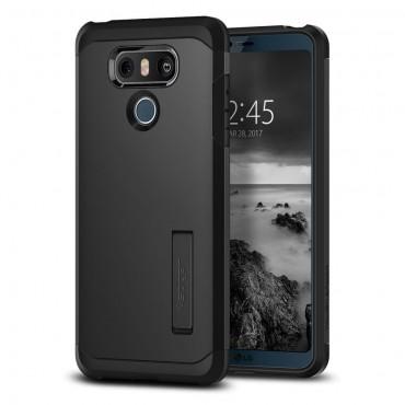 """Obal Spigen """"Tough Armor"""" pro LG G6 - černý"""