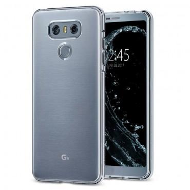 """Kryt Spigen """"Liquid Crystal"""" pro LG G6"""