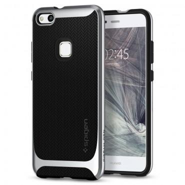 """Obal Spigen """"Neo Hybrid"""" pro Huawei P10 Lite - saténově stříbrný"""