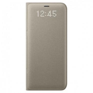 """Originální pouzdro Samsung """"LED View"""" pro Samsung Galaxy S8 – zlatý"""