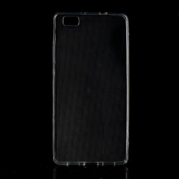 TPU gelový obal pro Huawei P8 Lite - průhledný
