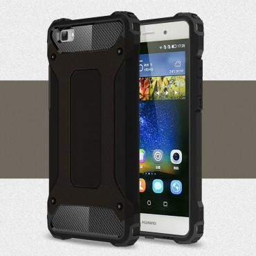 """Robustní obal """"Rock"""" pro Huawei P8 Lite - černý"""