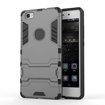 "Robustní obal ""Impact X"" pro Huawei P8 Lite - šedý"