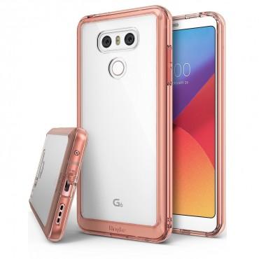 """Obal Ringke """"Fusion"""" pro LG G6 - růžově zlatý"""