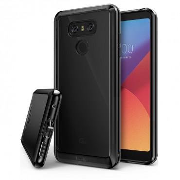 """Kryt Ringke """"Fusion"""" pro LG G6 - ink black"""