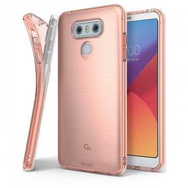 "Kryt Ringke ""Air"" pro LG G6 - rose gold"