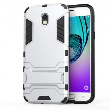 """Robustní obal """"Impact X"""" pro Samsung Galaxy J5 2017 - stříbrný"""