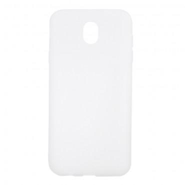 Kryt TPU gel pro Samsung Galaxy J7 2017 - bílý