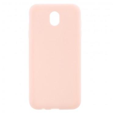 Kryt TPU gel pro Samsung Galaxy J7 2017 - růžový