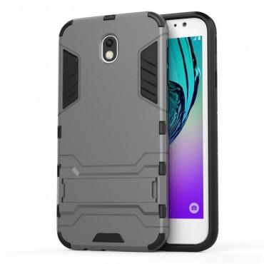 """Robustní obal """"Impact X"""" pro Samsung Galaxy J7 2017 - šedý"""